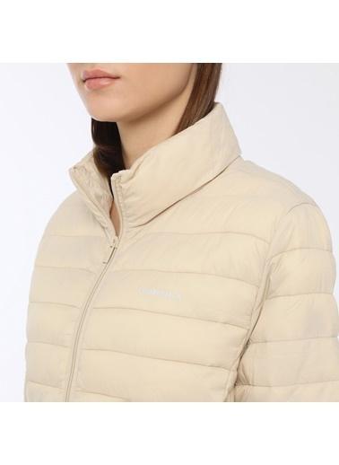 Lumberjack Basic Padded Coat W Ekru Kadın Mont Ekru